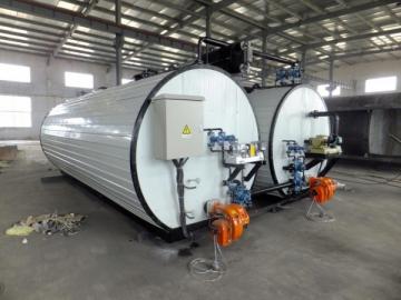 Diesel Oil Burner Heating Asphalt Storage Tank