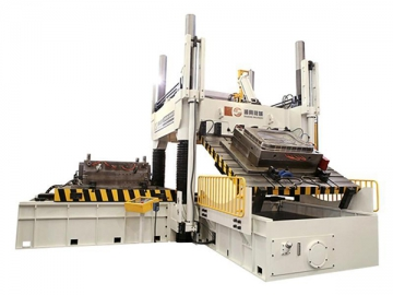 High Precision Spotting Press with Two Plate Clamping
