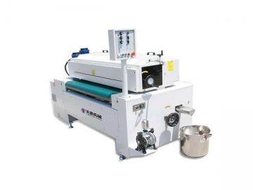 UV curing and solid color fluorocarbon roller paint coating line