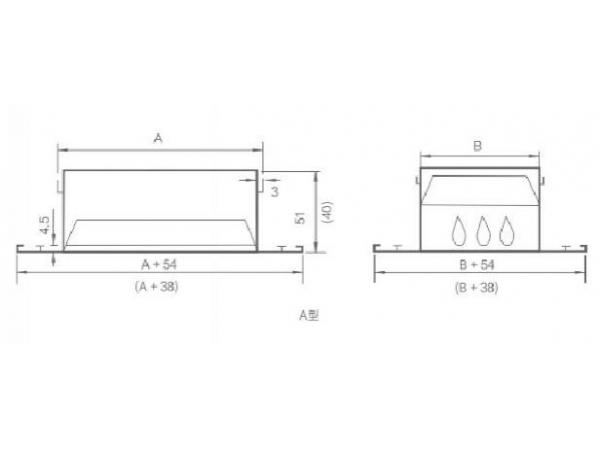 QD-LFK2 Single Deflection Grille