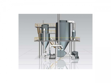 Fluid Bed Processor with Top spraying system for Agglomeration and Granulation