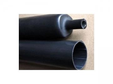 3:1 Semi-Rigid Dual Wall Heat Shrink Tubing  (Item HASR180, Black, Adhesive Lined Heavy Wall Tubing)