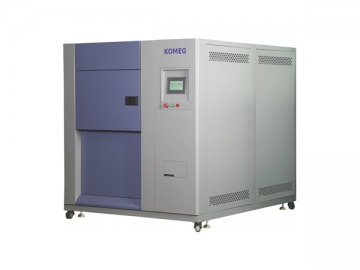 3 Zone Thermal Shock Test Chamber, Item KTS-100B Hot and Cold Temperature Test Chamber