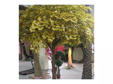 Artificial Plant Ginkgo Maidenhair Tree