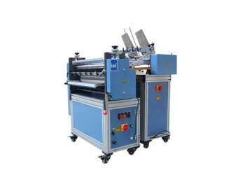 Children Board Book Gluing Machine with Wire Mesh for Saving Glue