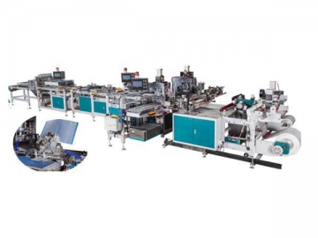 A4 Pocket Display Book Production Line