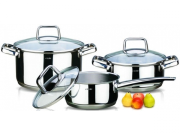 3-ply Stainless Steel Cookware