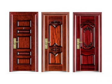 Commercial Steel Wood Door