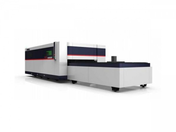 GL3015F Dual Work Table Fiber Laser Cutting Machine