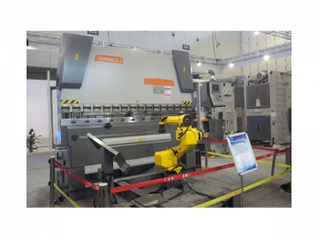 CNC Press Brake with Hydraulic Crowning System