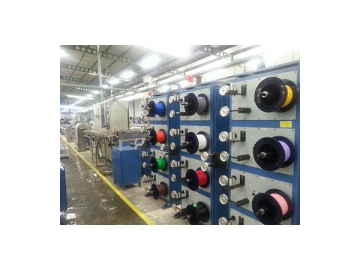 Fiber Optic Cable Secondary Coating Line