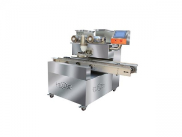 Encrusting and Tray Arranging Machine