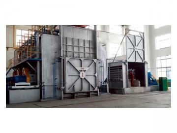 Furnace for Aluminum Homogenizing, using Electric Heater