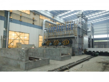 Homogenizing System for Aluminum Based Alloy Plant