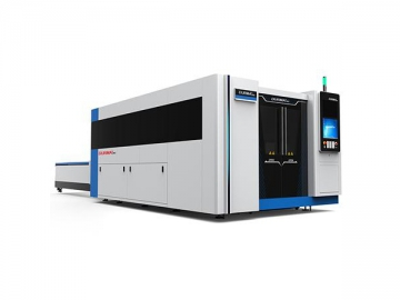 Sheet Metal Fiber Laser Cutting Machine with Full Cover Protection