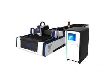 Fiber laser Cutting Machine with Shuttle Table