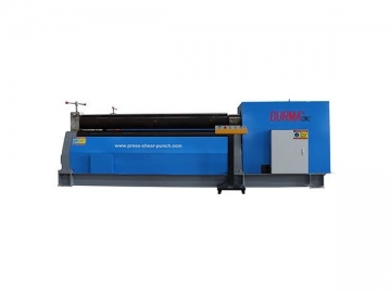 Hydraulic Symmetric Rolling Machine With 3 Rollers