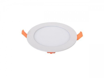 Recessed LED Light, Round Flat Fixture