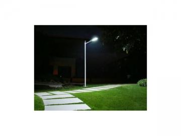 Integrated Solar LED Light Fixture