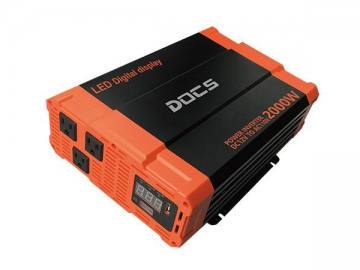 DC-AC Power Inverter 12V/24V 2000 Watt Modified Sine Wave Inverter