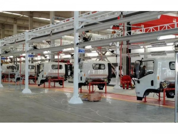 Cargo Truck Manufacturing Assembly Line Case Study