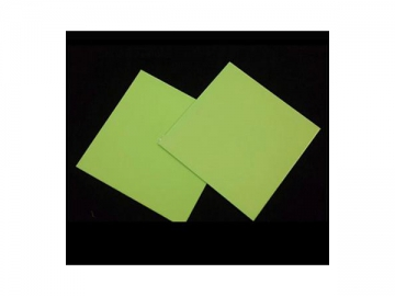 Glow in the dark Guide Board (Photoluminescent Material Coating)
