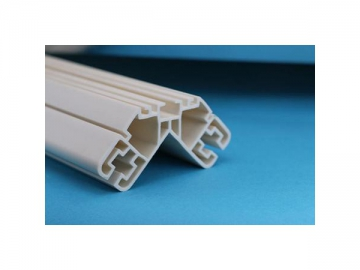 PVC - Polyvinyl Chloride Plastic Extrusion Profiles