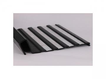 ABS - Acrylonitrile Butadiene Styrene Plastic Extrusion Profiles