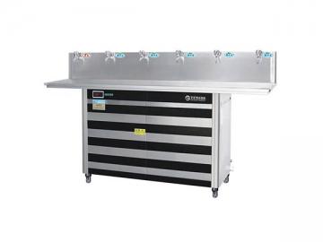 Floor Standing Water Cooler Dispenser, JN-4B Series 260W Cooling 10L Tank Dispenser
