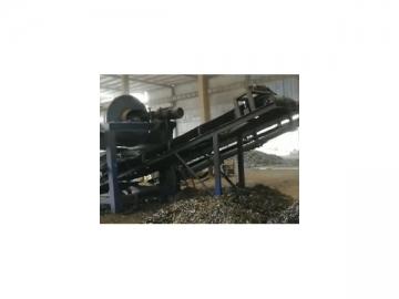 Scrap Metal Shredding System  Of Continuous Casting Machine