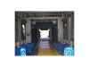 Car Wash Tunnel System with 14 Brushes