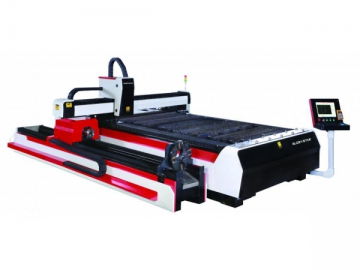 Fiber Laser Cutting Machine for Processing Both Tube and Flat Sheet, GS-G Laser Cutter
