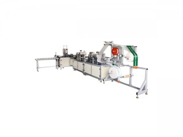 HD-0420 Automatic Production Line For 3D Anti Yellow Dust Mask