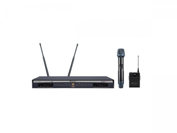 UR-260D Antenna Diversity Dual UHF Wireless Microphone System