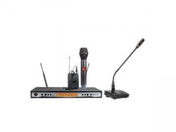 UR-111D Antenna diversity handheld wireless microphone system