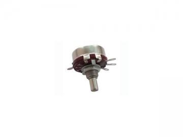 30mm Metal Shaft Multi-Gang Rotary Potentiometer, WTH118 Series