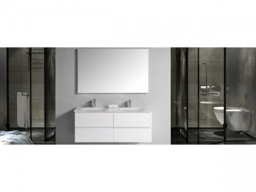 IL308 Double Sink Bathroom Vanity Set with Mirror