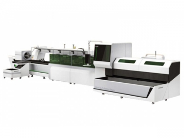 Tube Laser Cutting Machine with Automatic Loading System T230A