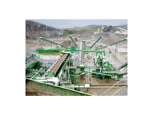 Waste Sorting Plant (Construction Waste)  Solution for sorting construction waste