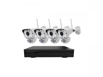 HD 1080p NVR Camera System, CCTV Security System with Wireless Camera and Wireless Receiver, CLR794308