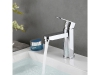 Single handle basin faucet in chrome polished finish  SW-BFS008(1)