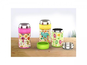 Stainless Steel Food Container Vacuum Food Jar for Snacks