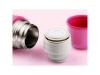 Fashion Silver Stainless Steel Vacuum Thermoses Bullet Flask Outdoor Office Cup Hot Cold thermal Water Bottle