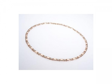 SN003 Healthcare Magnetic Necklace with Rose Gold Appearance