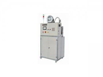 Automated powder-coating machine for weld seam protection