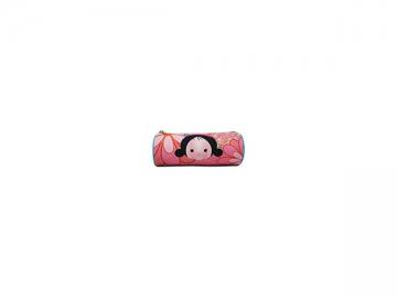 338971 Polyester Cylinder Pen Bag, 23*8*8cm Round Pencil Case