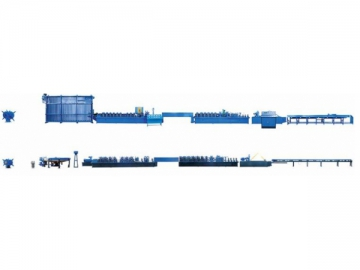 Electric Resistance Welded (ERW) Carbon Steel Pipe Mill