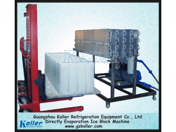 Direct Evaporation Ice Block Making Machine