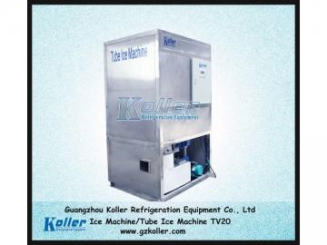 TV20 Tube Ice Making Machine, Ice Tube Machine