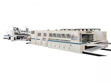 Flexo Printing Glazing Slotting Cutting Machine Line